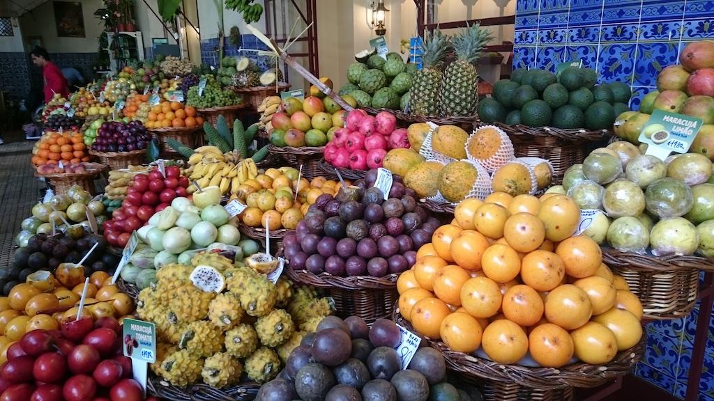 Etal marché des laboureurs Funchal