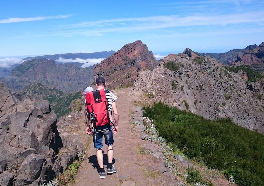 Randonnée PIco Ruivo et pico Arieiro