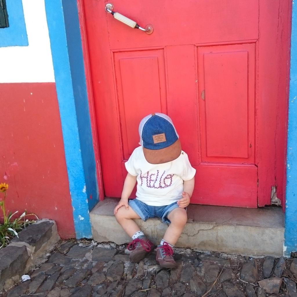 Santana et maisons au toit de chaume