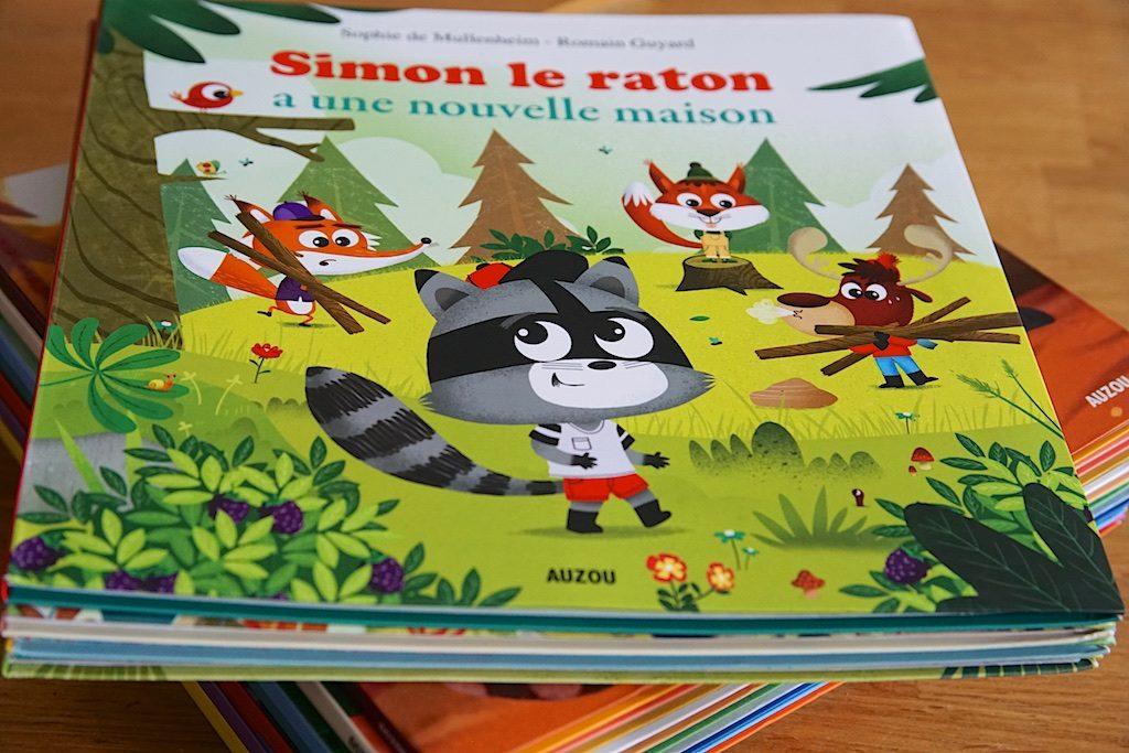 Simon le raton, auzou