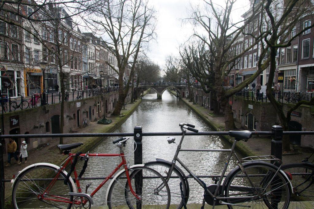 Canaux a Utrecht