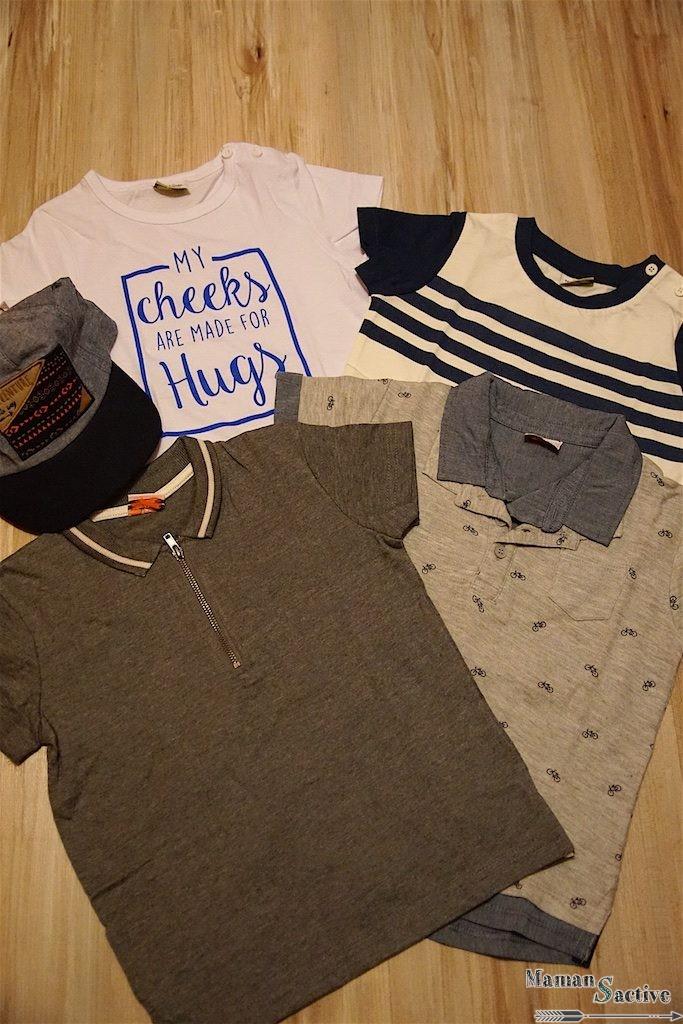 Selection vêtements look garçon