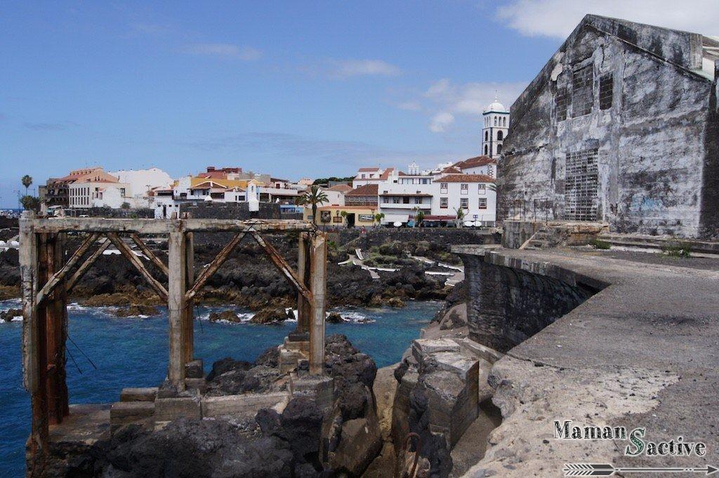 Tenerife, Piscines naturelles à Garachico