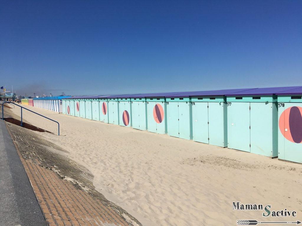 Cabanes de plage à Malo