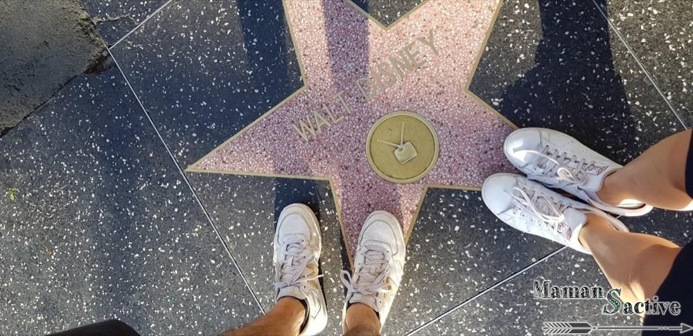 Hollywood boulevard, les étoiles des stars