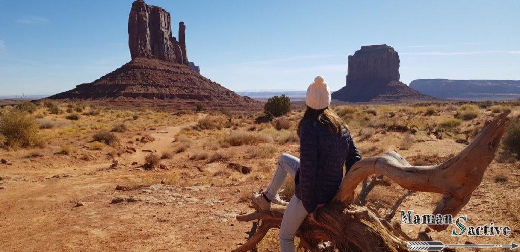 Randonnée à Monument Valley